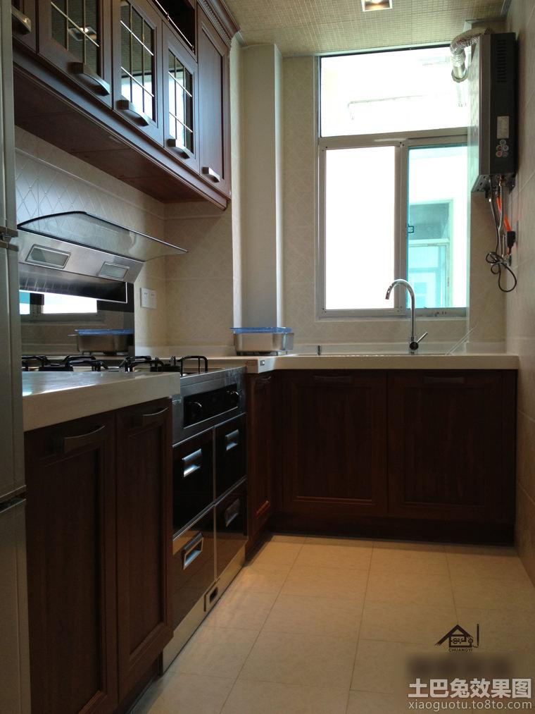 现代风格家装小厨房效果图