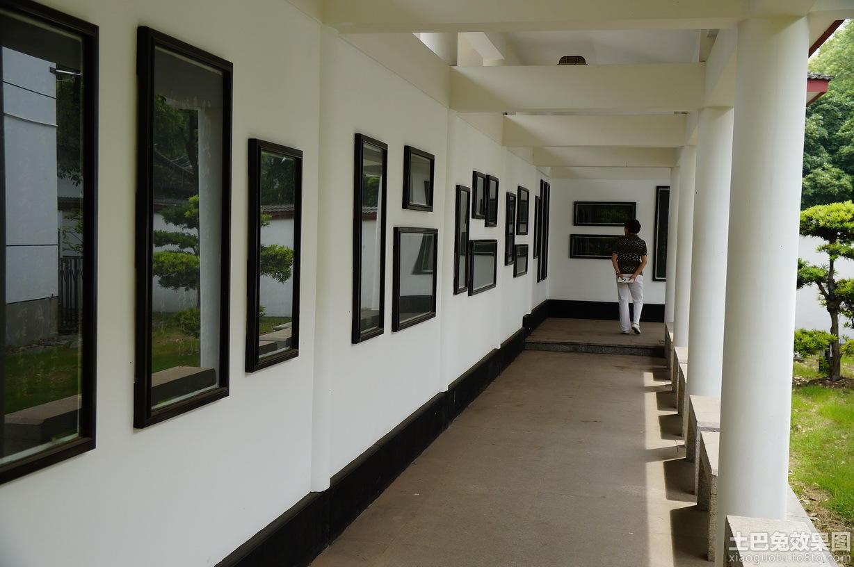 艺术书画展厅设计图片