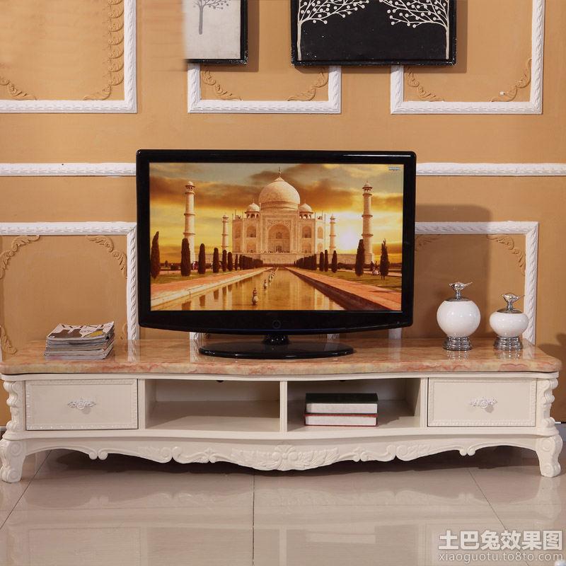大理石欧式电视柜效果图