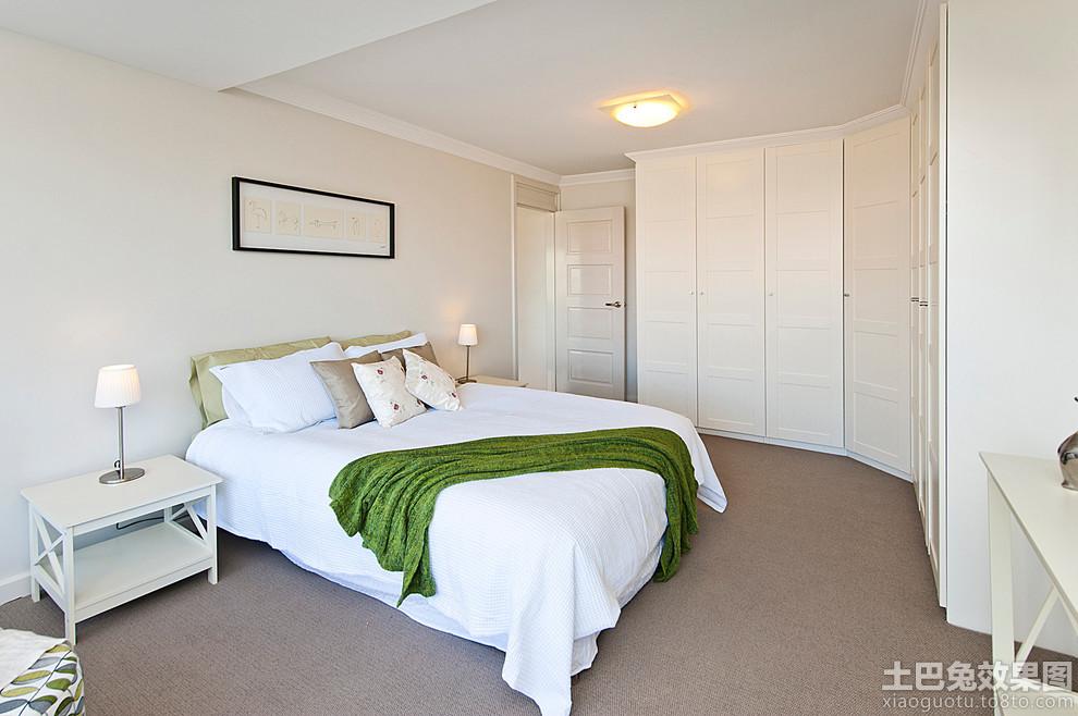 卧室整体长衣柜图片