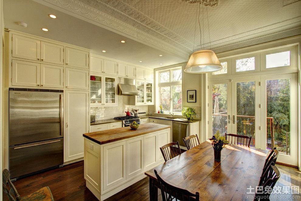 欧式开放式厨房隔断图片欣赏 - 装修效果图 - 九正图片
