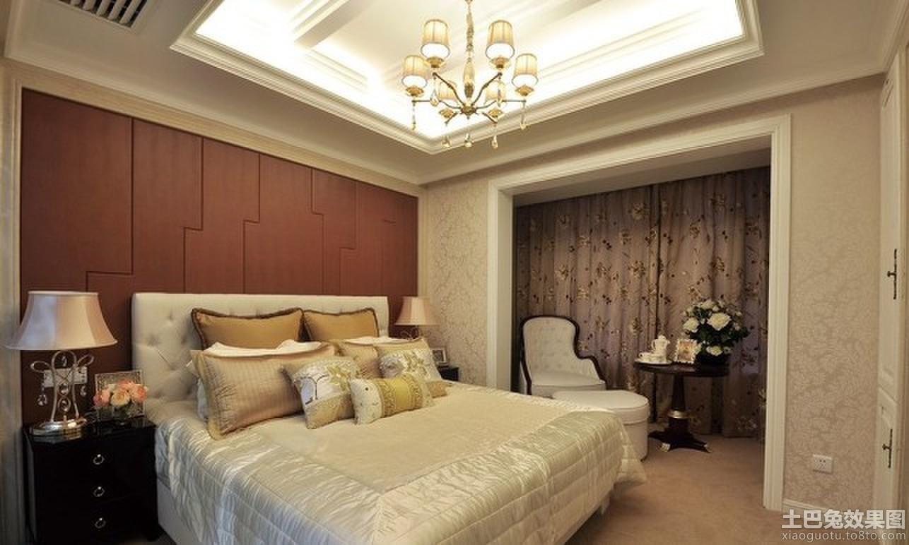 卧室装修吊顶设计图片