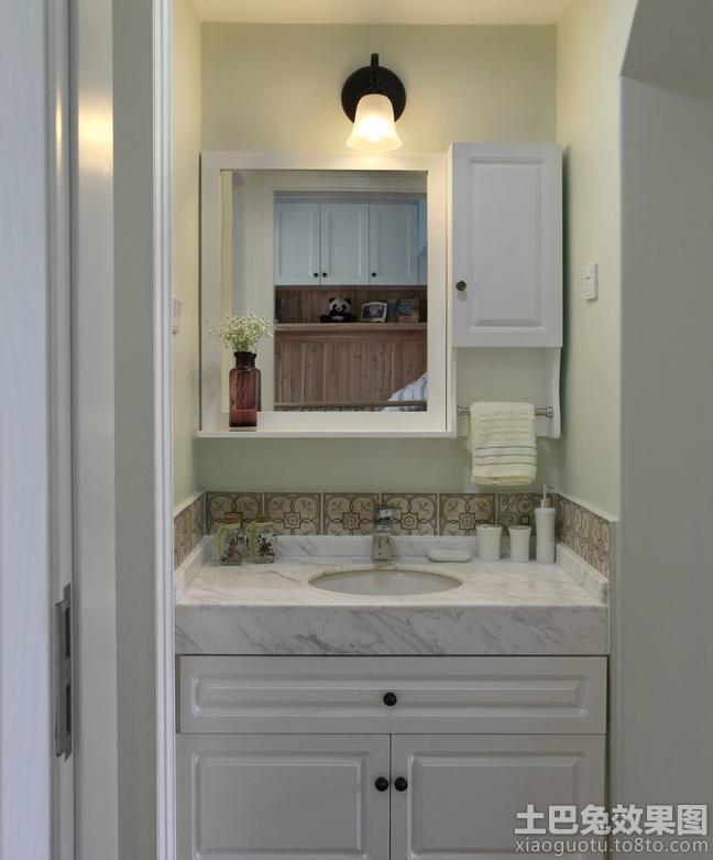 洗手间橱柜设计效果图