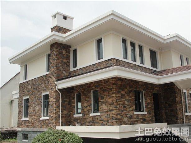现代别墅外墙瓷砖效果图 - 装修效果图 - 九正家居网