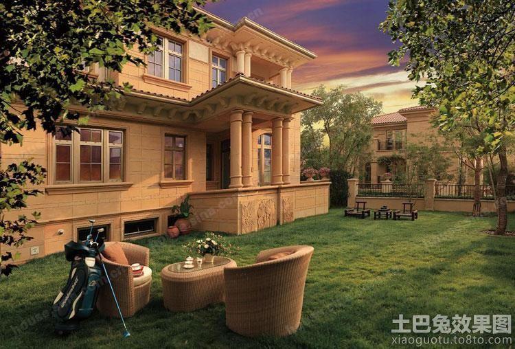 欧式三层别墅房顶造型图片大全图片