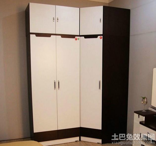小型转角衣柜设计效果图