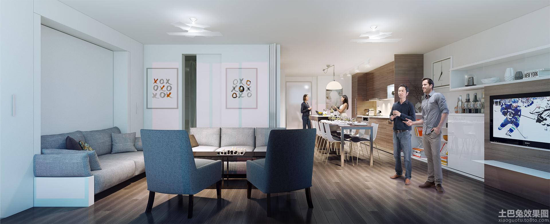 复式房屋装修设计 - 装修效果图 - 九正家居网图片