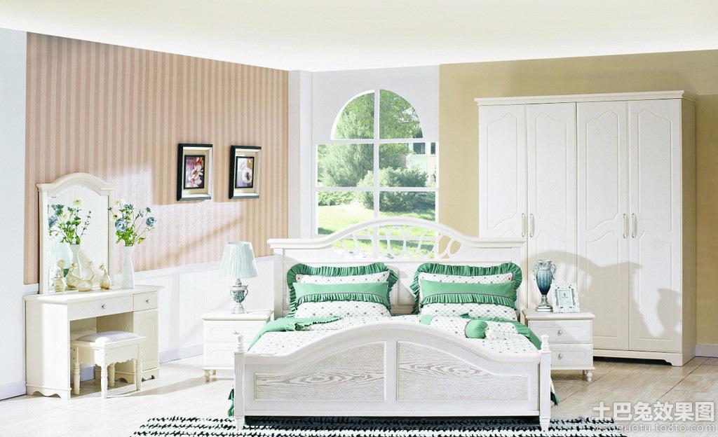 欧式田园风格卧室设计图大全
