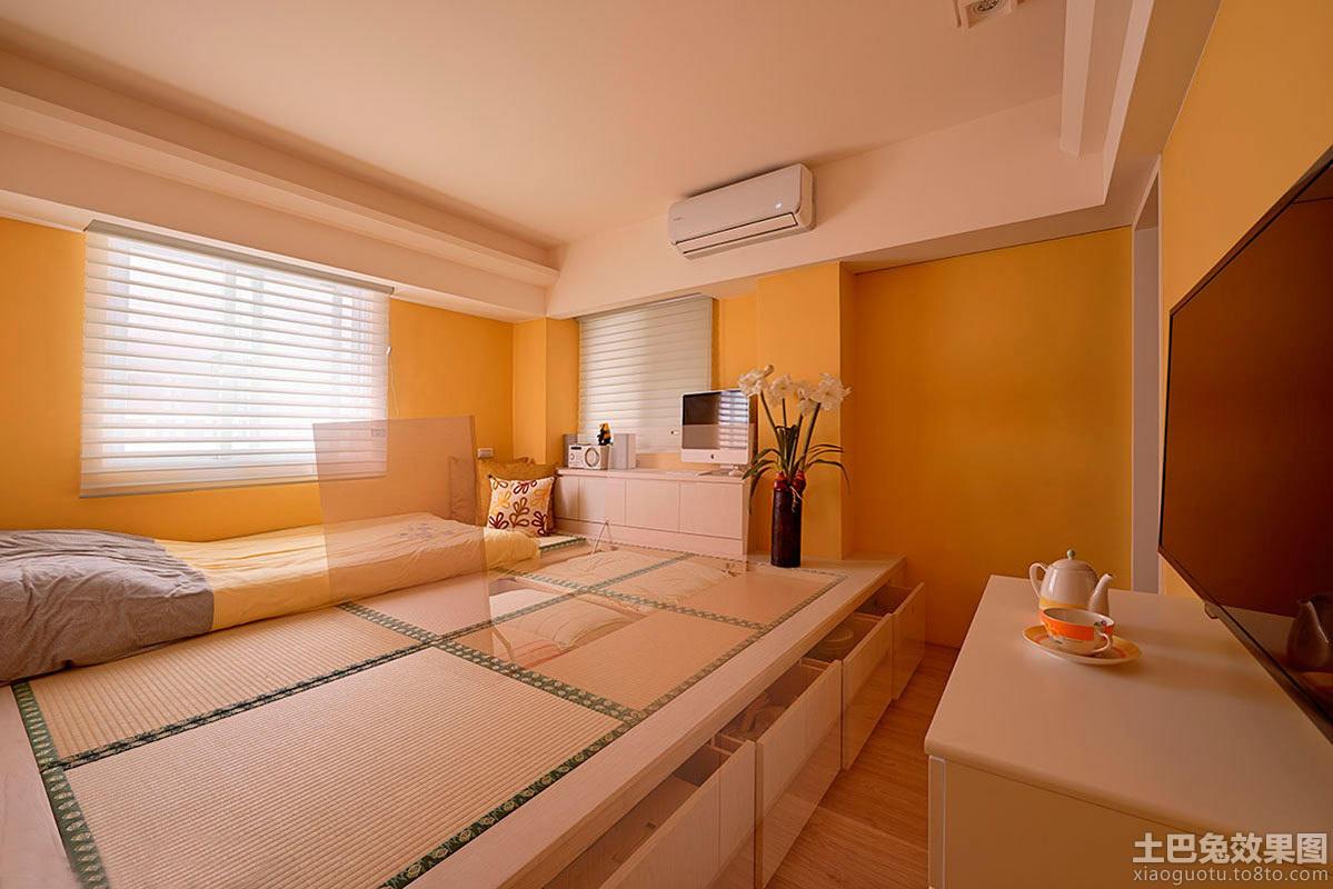 卧室榻榻米装修设计效果图