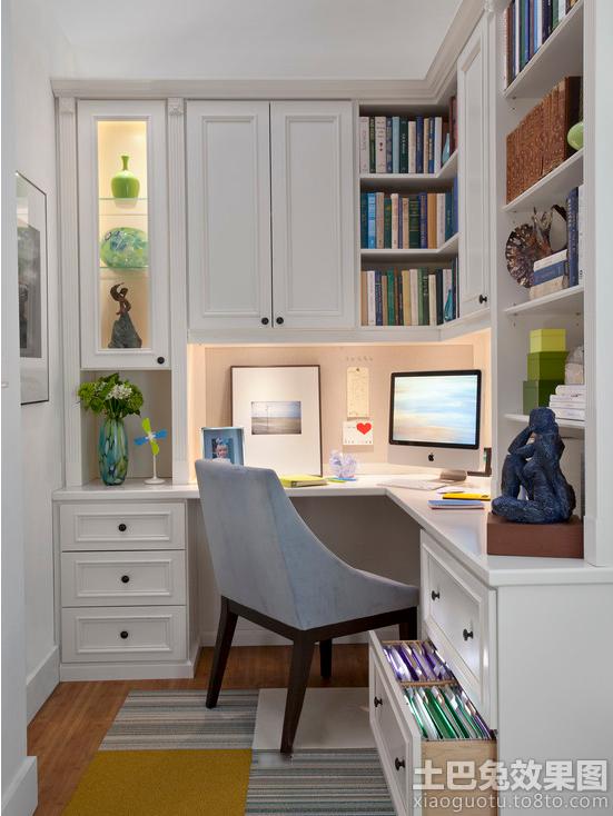书台书柜装修效果图