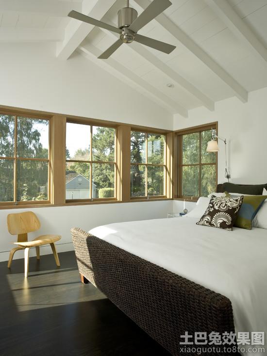 簡約別墅臥室窗戶裝修圖片圖片