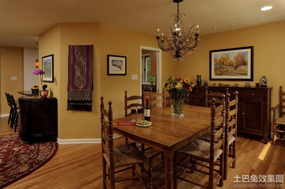 美式风格铁艺餐厅吊灯图片 - 装修效果图 - 九正家居网