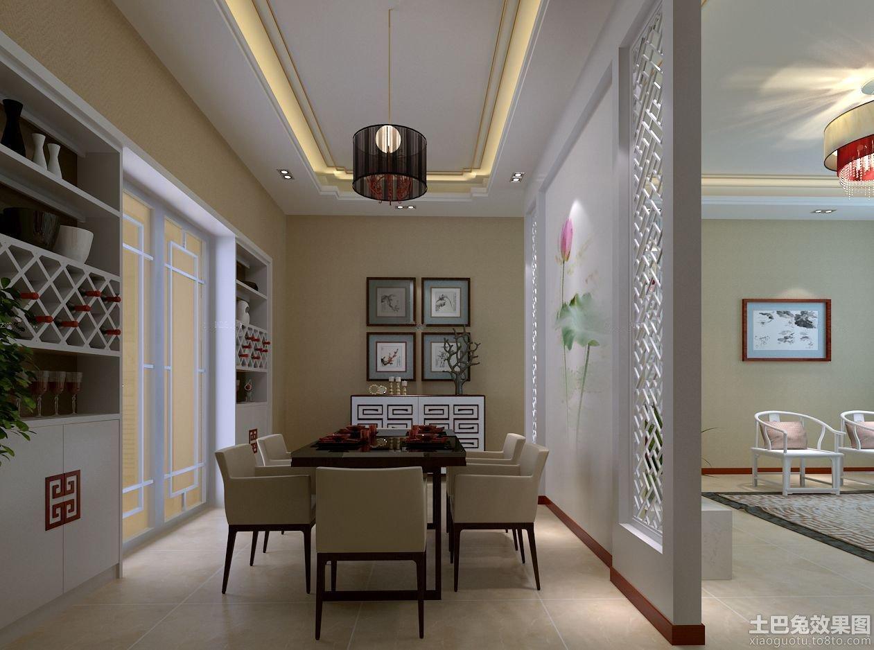 客厅和餐厅隔断装修效果图-餐厅与客厅隔断酒柜图_餐厅与客厅隔断设计