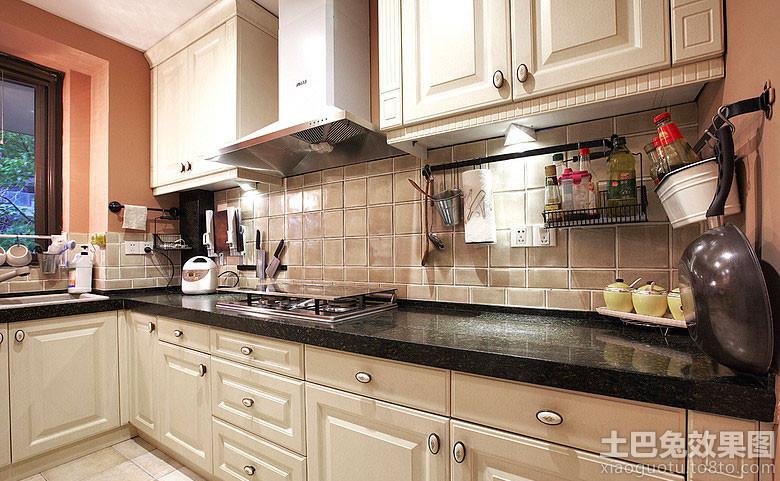 东南亚风格家庭厨房图片欣赏