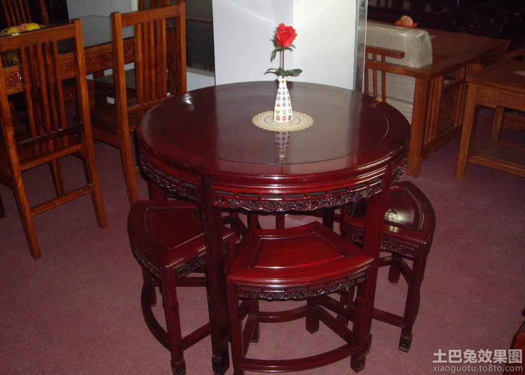 餐桌红木家具设计