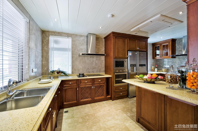 別墅居家大廚房裝修圖片欣賞