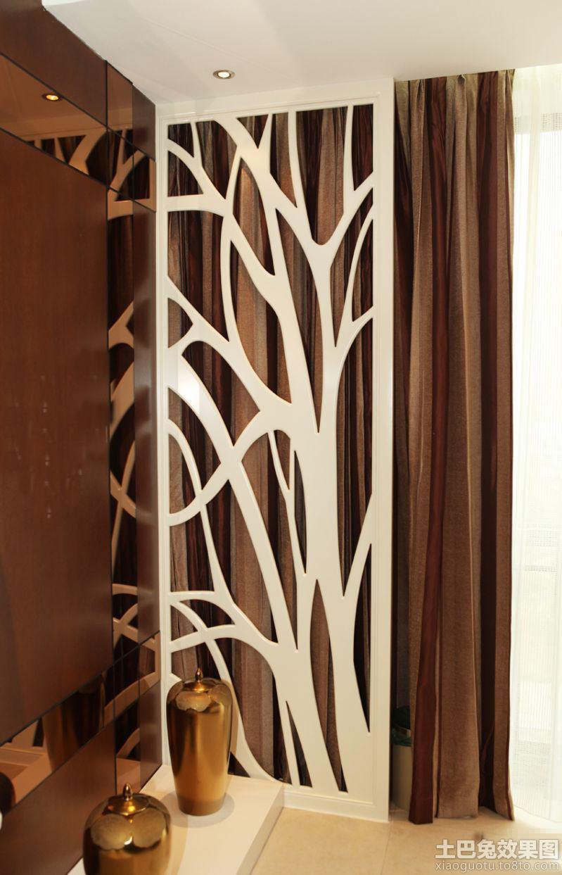 家庭室内雕花隔断效果图 - 装修效果图 - 九正家居网
