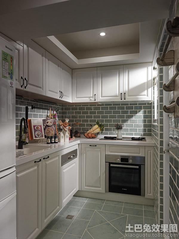 法式风格家庭厨房吊顶装修图片