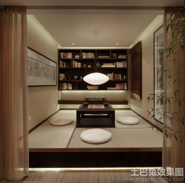 日式风格室内榻榻米卧室装修设计
