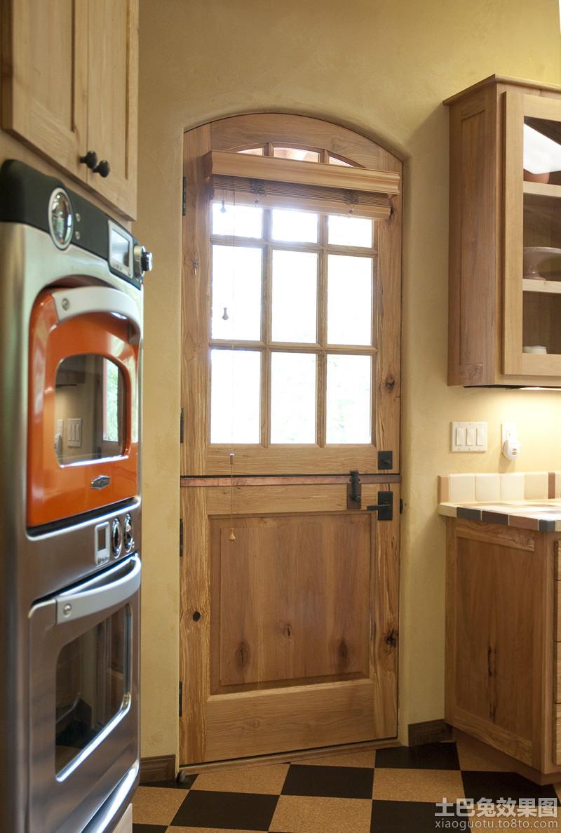 美式厨房门设计效果图