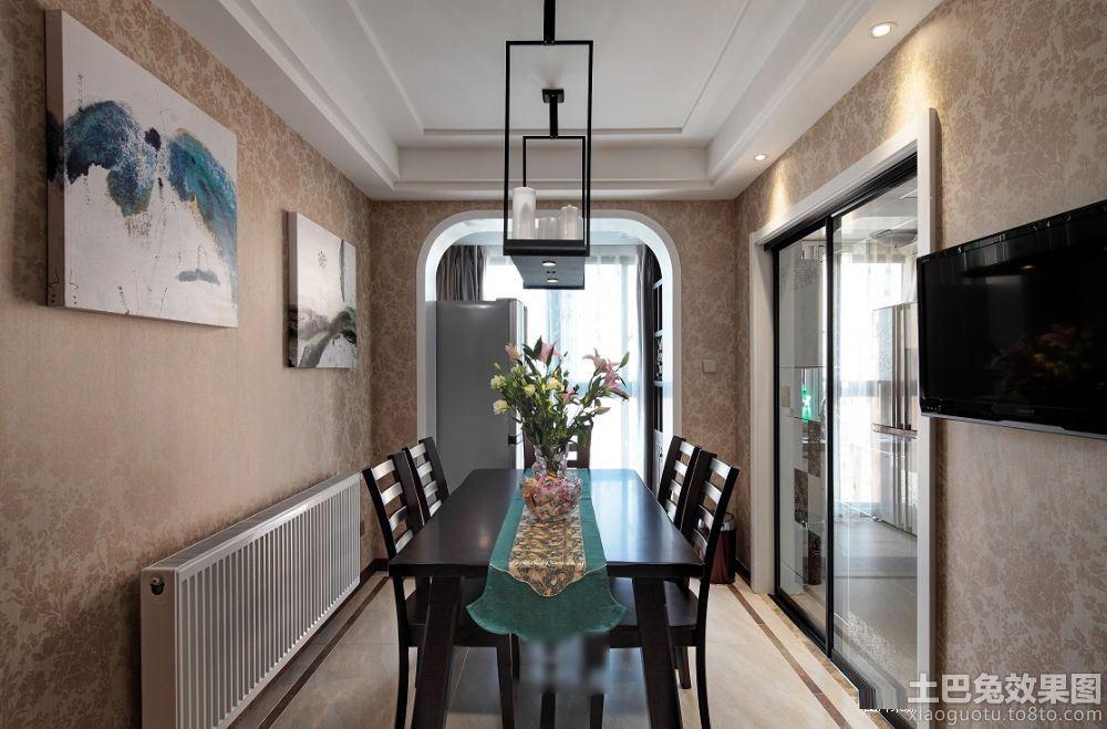 新中式风格家庭餐厅装修图片