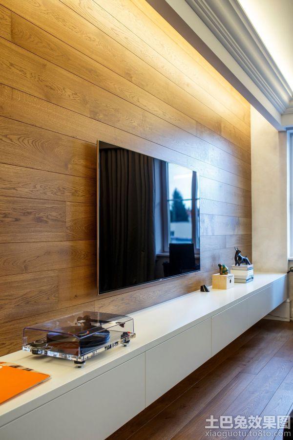 日式风格室内电视背景墙图片欣赏