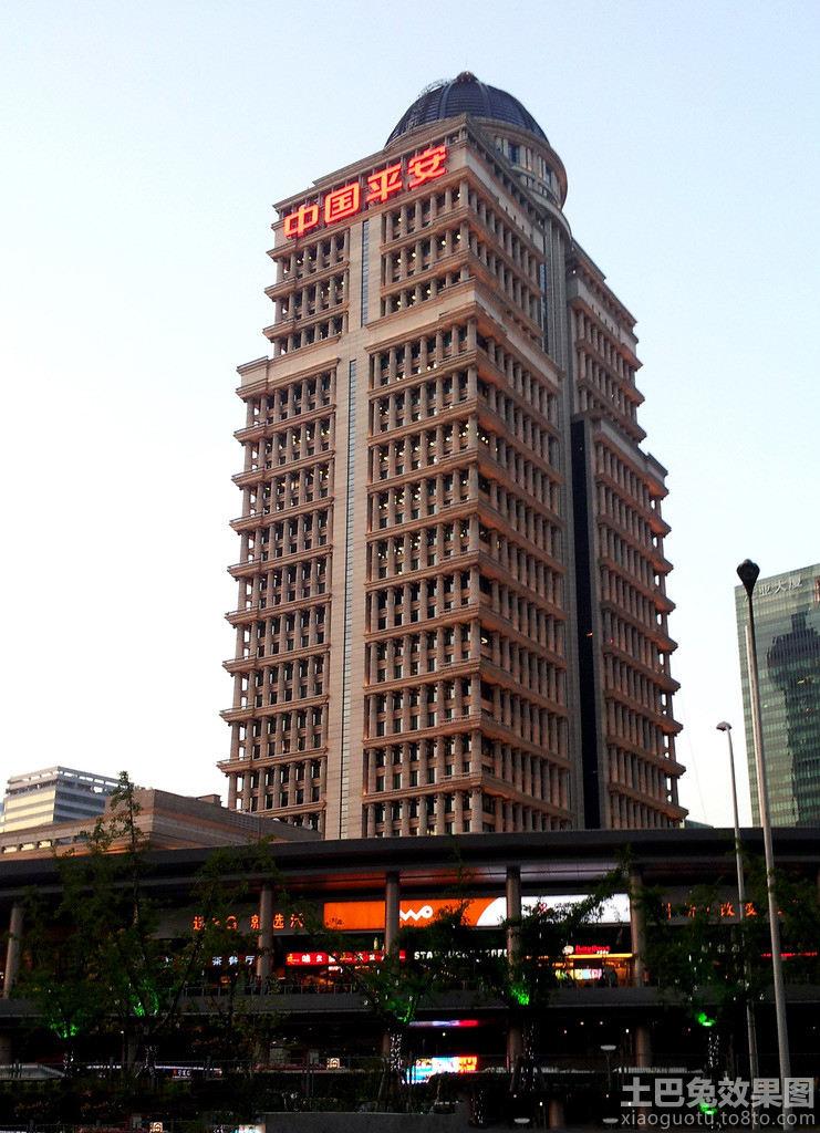 天津平安大厦豪华建筑图片