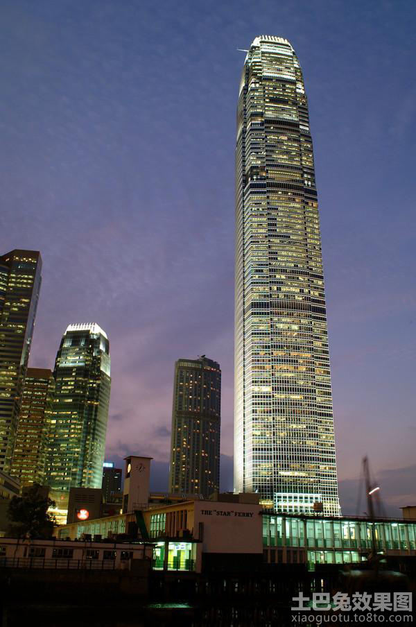 天津平安大厦夜景图片大全