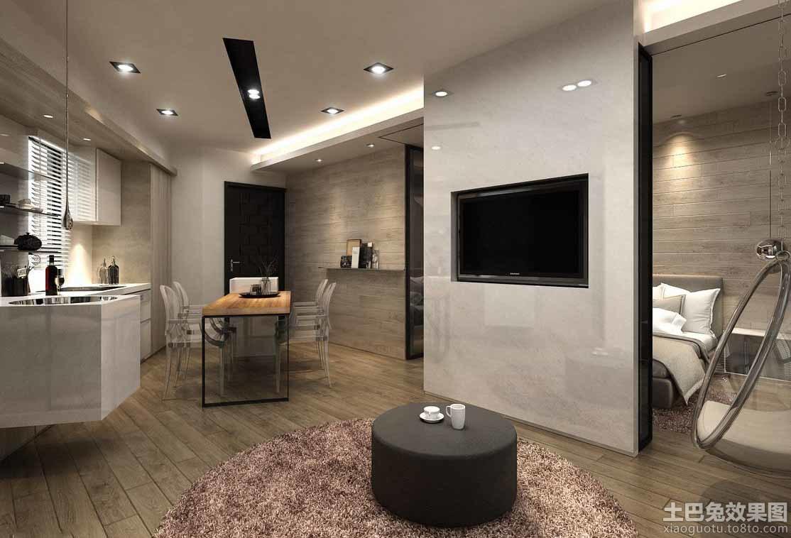 现代设计装修室内电视背景墙图片