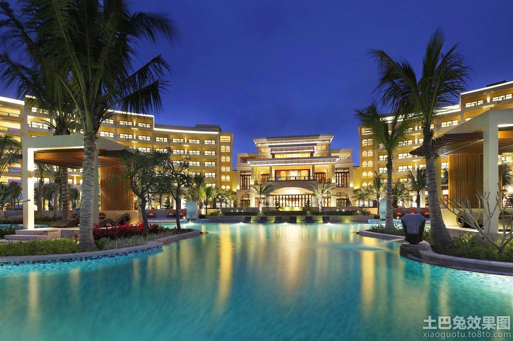 金海湾喜来登度假酒店外景图片