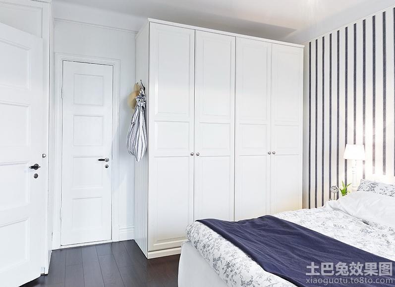 北欧风格开门衣柜