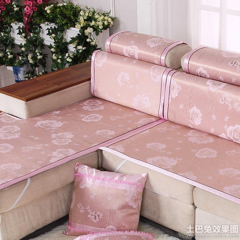 沙发坐垫布艺时尚坐垫图片