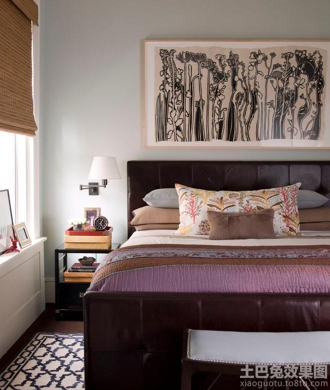 卧室墙面装饰贴画欣赏