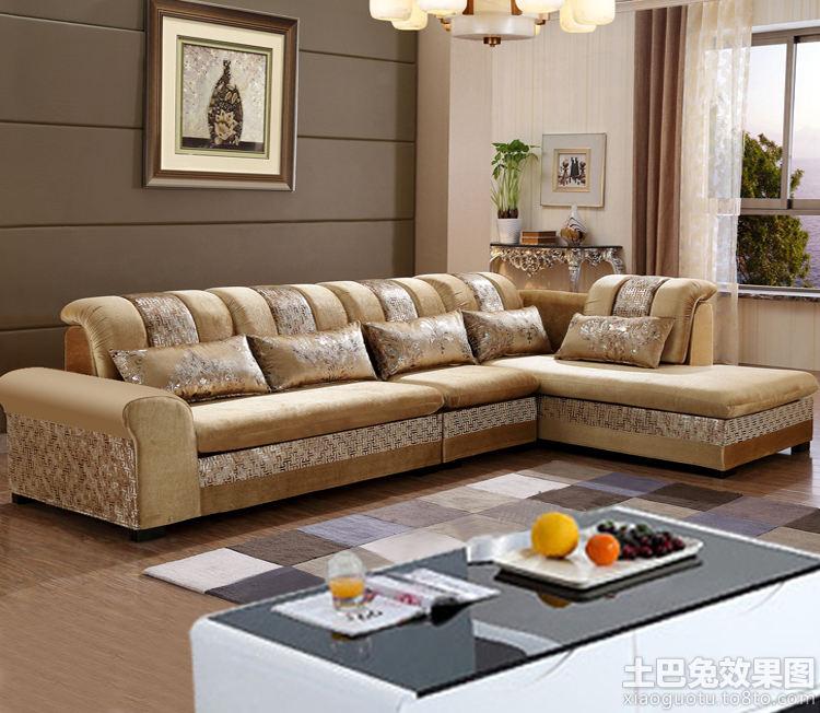 客厅转角小沙发图片大全