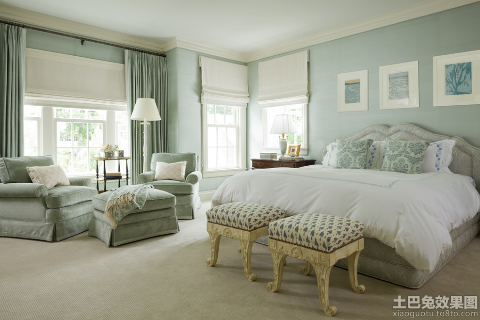 北欧装修设计2014家装卧室效果图欣赏图片
