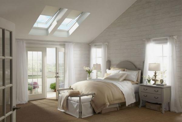 不规则屋顶卧室装修效果图片