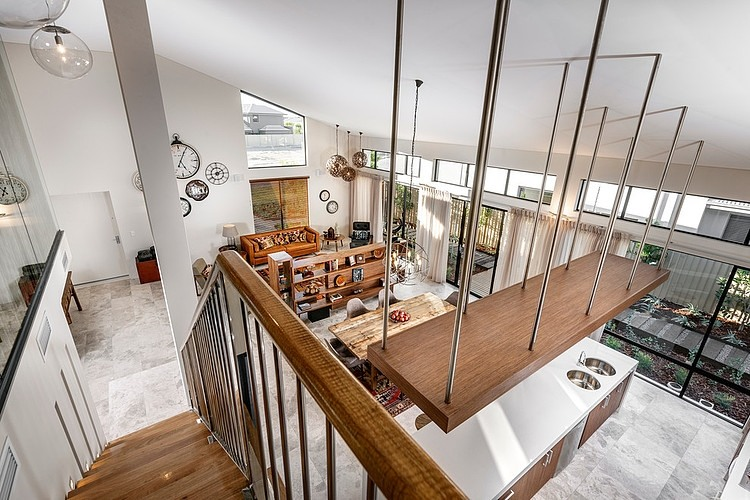 原木色的自然清新 有阁楼的温馨舒适家