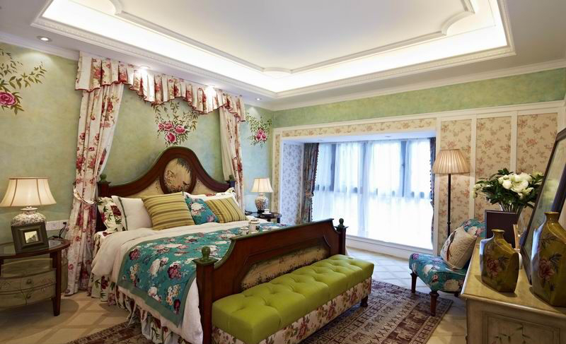 欧洲贵族家庭 田园住宅装修效果图欣赏图片