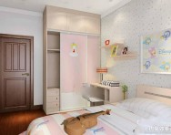 简约风格学生卧室装修效果图图片