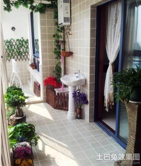 家庭阳台花园设计图片,杨艺diy手工坊小阳台装修效果图