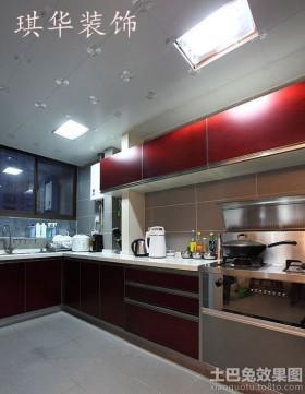 厨房铝扣板集成吊顶效果图