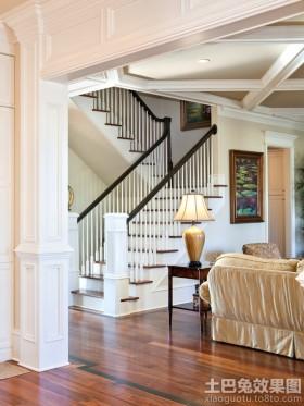 别墅室内楼梯扶手图片大全