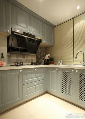 小厨房实木橱柜效果图大全