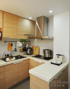 敞开式小厨房装修效果图