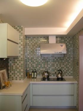 小戶型廚房馬賽克瓷磚效果圖