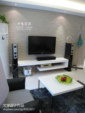 > 客厅电视机背景墙