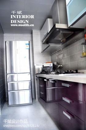 【现代家装效果图厨房】