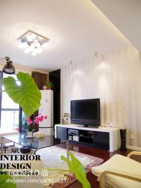 > 80平米小户型客厅装修效果图