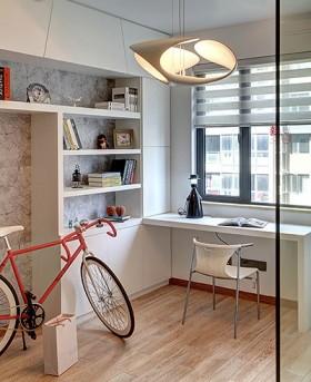 小户型小书房改阳台装修效果图图片