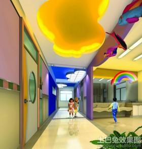北京蓝天幼儿园室内装饰图片